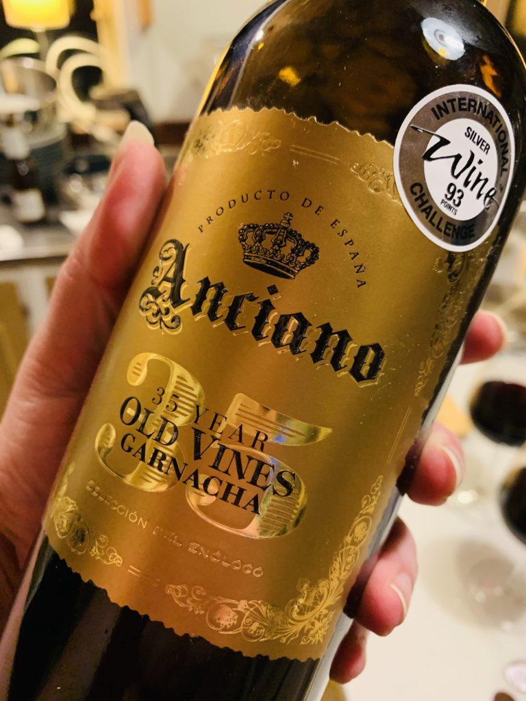 Anciano 35 year old vines Garnacha